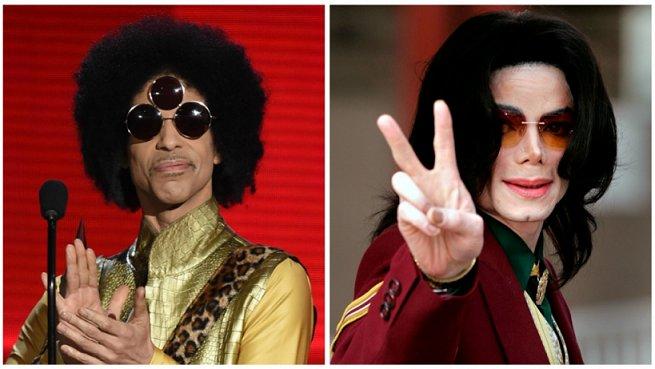 Prince V Michael Jackson