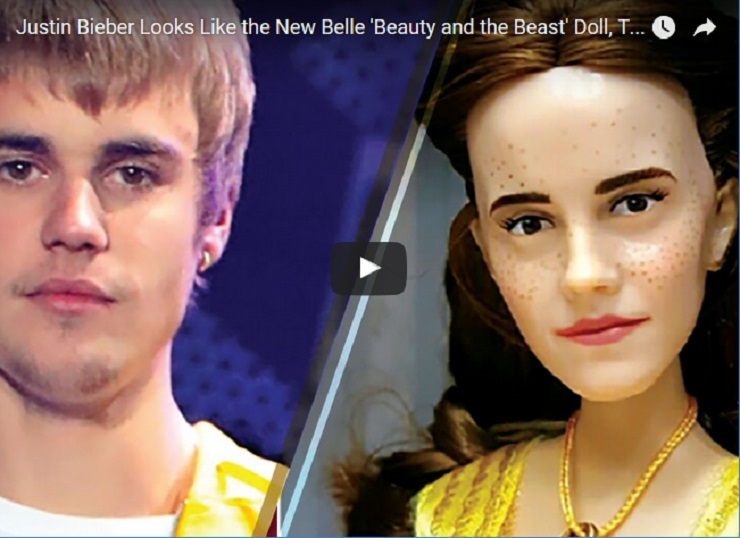 Justin Bieber S Creepy Resemblance To Beauty And The Beast